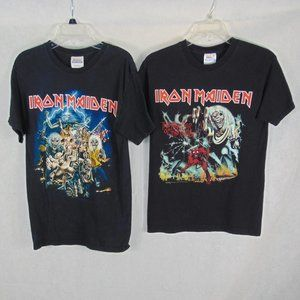 2 Iron Maiden Tees Number of the Beast size S